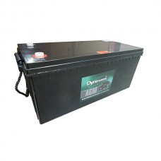 AGM BATTERY 12V 226AH/C20 192.5AH/C5 M8