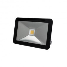 LED FLOOD LIGHT 20W ZWART,WARMWIT